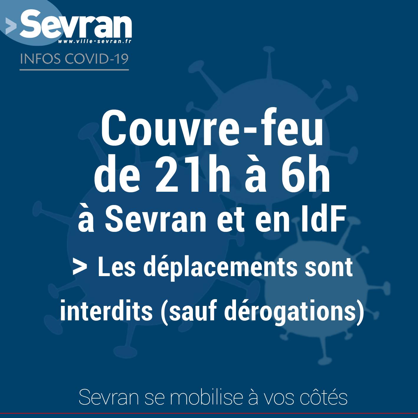 Couvre Feu A Sevran Et En Idf Mairie De Sevran